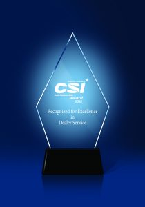 22018 CSI Dealer Service Award